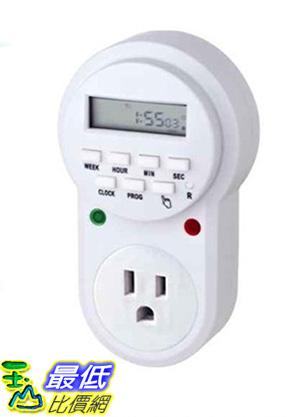 [玉山最低網] 美式計時器15A 110V美標定時器插座 電源計時器開關插頭_i113