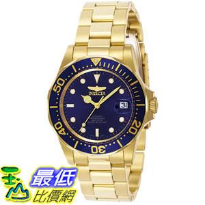 [105美國直購] Invicta Men's 男士手錶 Men Automatic Pro Diver G3 8930 Blue Gold Tone Automatic Watch