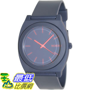 [105美國直購] Nixon Men's 男士手錶 A119692 Blue Polyurethane Quartz Watch