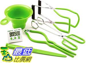 [美國直購] Presto 09995 玻璃罐專用工具 7 Function Canning Kit (Ball Mason可參考)