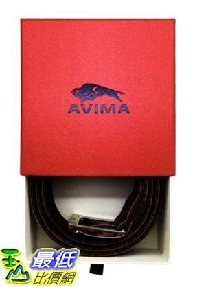 [105美國直購] Leather Belt, 男士皮帶 AVIMA? #1 Men's Casual Dress Genuine Leather Handcrafted Belt