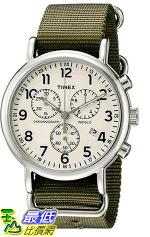 [105美國直購] Timex Weekender Chronograph Watch