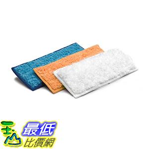 [免運費] iRobot 4510983 Braava jet 240 擦地機原廠藍色+橘色+白色共3條 可重複水洗使用專用布