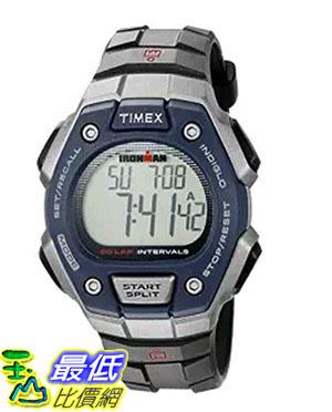 [105美國直購] Timex Mens Ironman Quartz Resin Sport Watch, Color:Black (Model: TW5K860009J)