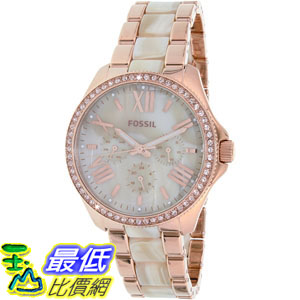 [105美國直購] Fossil Women's 女士手錶 Cecile AM4616 Rose Gold Stainless-Steel Quartz Watch