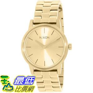 [105美國直購] Nixon Women's 女士手錶 Kensington A361502 Gold Stainless-Steel Quartz Watch