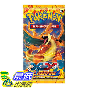 [美國直購] 1 x Pokemon XY - Flashfire Booster Pack