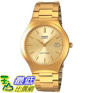 [105美國直購] Casio Men's 男士手錶 Core MTP1170N-9A Gold Stainless-Steel Quartz Watch
