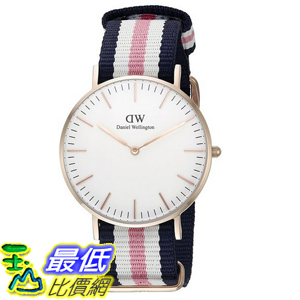 [105美國直購] Daniel Wellington 0506DW Classic Southhampton Stainless Steel Watch 女士手錶