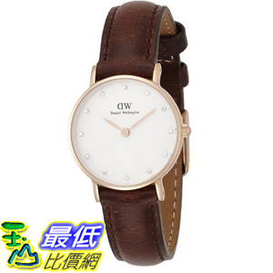 [105美國直購] Daniel Wellington 0903DW Bristol Rose Gold-Tone Stainless Steel Watch 女士手錶