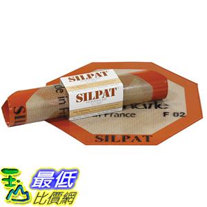 [美國直購] Silpat AE260260-02 八角烤墊 矽膠墊 烘培 烤箱 10.25吋 Silicone Microwave Baking Mat