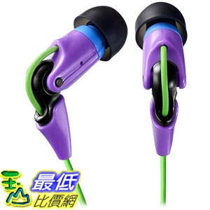 [東京直購] TDK (型號TH-NEC300PU) 耳道式耳機 neo:n 03 紫色限定版