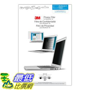 [美國直購] 3M PFMA11 PFNAP006 螢幕防窺片25.8x14.5cm Apple MacBook 11吋