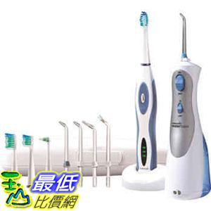 [直購價] The Waterpik 可攜式沖牙機(WP450) 和電動牙刷(WP3000) 同捆包  C141068