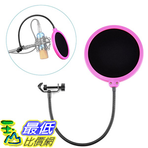 [美國直購] Neewer 錄音 麥克風 罩  B016D6VRII Studio Microphone Mic Wind Screen Pop Filter Mask Shield