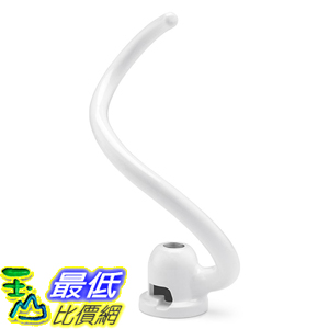[美國直購] KitchenAid KNS256CDH 攪拌機配件 攪拌頭 Spiral Coated Dough Hook for 6QT KV25G KP26M1X