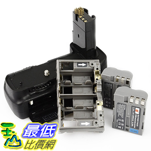 [美國直購] DSTE Pro MB-D200 Vertical Battery Grip + 2x EN-EL3E Nikon D200 Fujifilm S5 SLR 相機周邊
