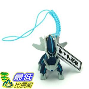 [美國直購] 神奇寶貝 精靈寶可夢周邊 Pokemon B001F3PJFM Diamond and Pearl 1吋 Mini Figure Strap - Dialga