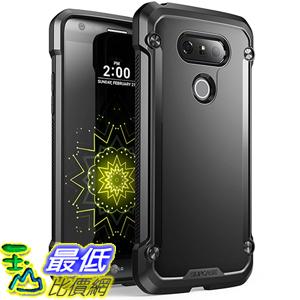 [美國直購] SUPCASE LG G5 Case 黑底黑框/霧面籃框 [Unicorn Beetle Series] 手機殼 保護殼