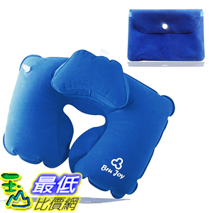 [美國直購] 航空坐飛機用頸枕睡枕枕頭 Bru Joy B00CHYVRFY Travel Pillow Neck Inflatable Travel Head Rest Kids Adults