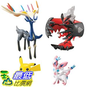 [美國直購] 神奇寶貝 精靈寶可夢周邊 Pokemon T18620B Super Action Figure 4 Pack