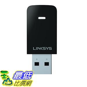[美國直購] Linksys Max-Stream AC600 Dual-Band MU-MIMO USB Adapter (WUSB6100M)  適配器
