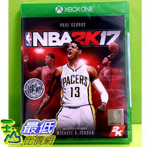 (現金價) Xbox One 美國職業籃球 NBA 2K17 繁體中文版 含特點