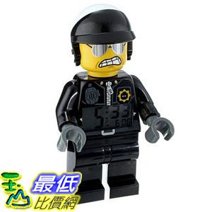 [美國直購] LEGO Kids 9009952 人偶鬧鐘 警察 Movie Bad Cop Figurine Alarm Clock