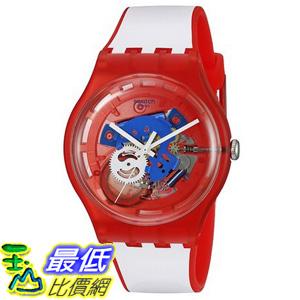 [美國直購] Swatch Unisex SUOR102 Originals Analog Display Swiss Quartz White Watch 手錶