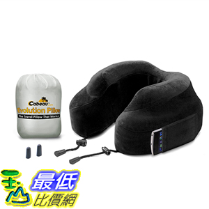 [美國直購] 航空坐飛機用頸枕睡枕枕頭 Cabeau EP0081 Evolution Memory Foam Travel Neck Pillow - The Best Travel Pillow