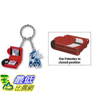[美國直購] 神奇寶貝 精靈寶可夢周邊 Dialga: Pokemon Keychain with a mini 1吋 Pokemon figure and a mini Pokedex