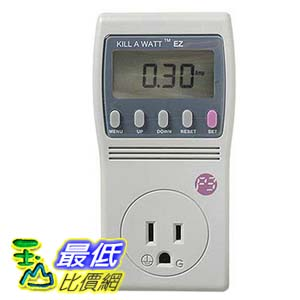 [美國直購] P3 International P4460 Kill A Watt EZ Electricity Usage Monitor 能源偵測器