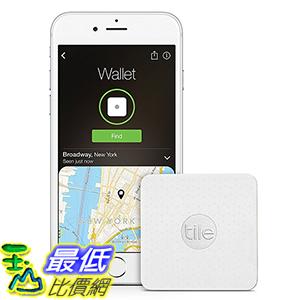 [美國直購] Tile EC-04001 尋物追蹤器 Slim  Phone Finder. Wallet Finder. Item Finder - 1-Pack