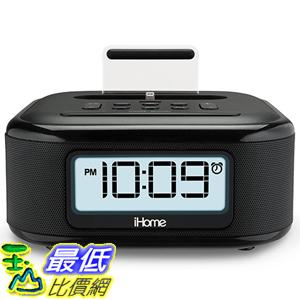 [出清價 只有一套] iHome iPL23 Stereo FM Clock Radio with Lightning Dock Charge/Play for iPhone 5/5S 6/6Plus 6S/6SPlus 收音機 TB32