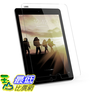 [美國直購] URBAN ARMOR GEAR 3D touch 9H 平板 保護貼 iPad Air 1/2 & iPad Pro 9.7吋 Tempered Glass Scratch Resistant Screen Shield