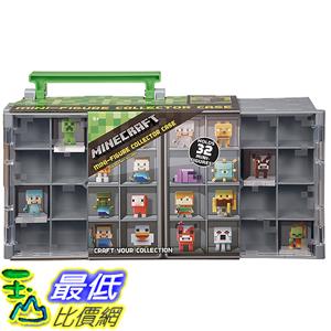 [美國直購] Minecraft DFN48 當個創世神 公仔收納箱 收藏保護殼 Mini Figure Collector Case