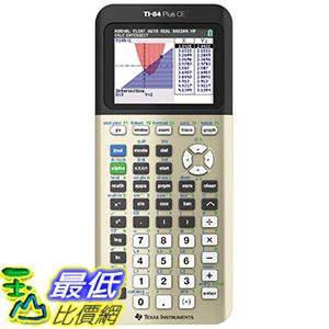 [美國直購] Texas Instruments TI-84 Plus CE TI84PLSCEGOLD Calculator 計算機