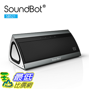 [美國直購] SoundBot SB521-GUN SB521 HD 3D Bluetooth 4.0 Wireless Speaker for 15Hrs Music Streaming 揚聲器