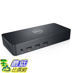 [美國直購] Dell 戴爾 D3100 擴充座 USB 3.0 Triple Display UltraHD Universal Dock