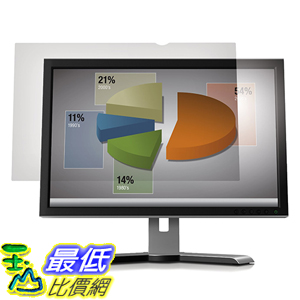 [美國直購] 3M AG19.5W9 Anti-Glare Filter 螢幕防眩光片(非防窺片) for Widescreen Desktop LCD Monitor 19.5吋 433 mm x 237 mm