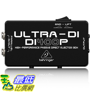 [美國直購] BEHRINGER ULTRA-DI DI400P Professional and multi-purpose direct injection box