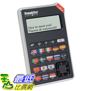 [美國直購] Franklin EST-4016 16 Language Speaking Phrase Translator 翻譯機