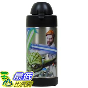 [美國直購] Thermos B00W8AAA28 Funtainer Star Wars Clone Wars 10 Oz Bottle with Yoda, Anakin and Obi Wan Kenobi 兒童保溫水壺