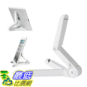 [美國直購] Kitbest 白/黑 可調整 攜帶式平板架 Adjustable Folding Stand, Portable Mini iPad Stands for 7-10 Tablet