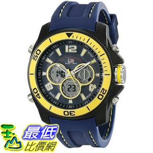[美國直購] U.S. Polo US9322 手錶 Assn. Sport Men's Sport Watch with Navy Silicone Band