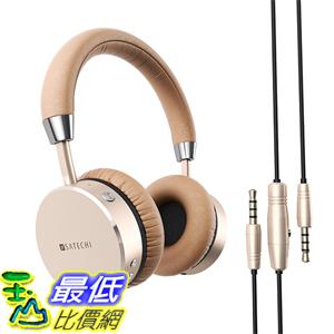 [美國代購] Satechi 金灰銀三色 耳機 Aluminum Headphones with 3.5mm Audio-out Jack for iPhone 6 Galaxy S6 - Features Enhanced Bass