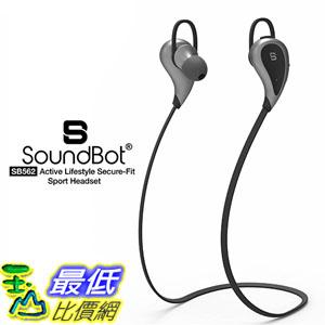 [美國直購] SoundBot SB562 耳機 Stereo Sports-Active Headset High-Performance Earbud Earphone w/ Intuitive Voice Prompt