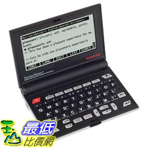 [美國直購] Franklin BES2100 Spanish - English Electronic Speaking Dictionary 翻譯機