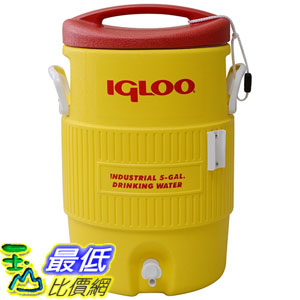 [美國直購] Igloo MSIGLO5X Water Cooler, 5-Gallon 19L 19公升 攜帶式冰桶 水桶 飲用水 露營必備 飲料桶