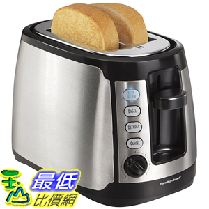 [美國直購] Hamilton Beach 22811 烤麵包機 烤土司機 Keep Warm 2-Slice Toaster